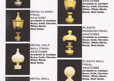 Decorator Pole Finials 001