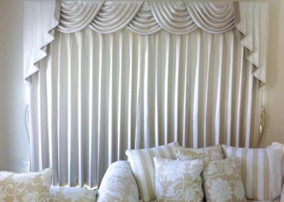 Swags and Tails Curtains Lilydale 1